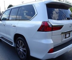 Lexus lx570 2019, GCC Full option, with Radar