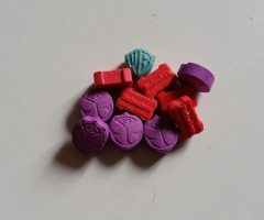 Available for sale Purple Tommorowlands 180mg MDMA