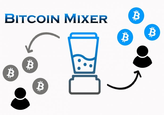 Secure and anonymous Bitcoin mixer and Bitcoin blender